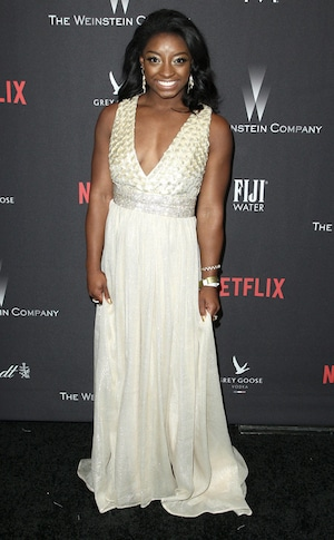 Simone Biles, 2017 Golden Globe After Party