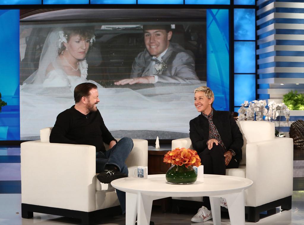 Ricky Gervais, Ellen DeGeneres Show