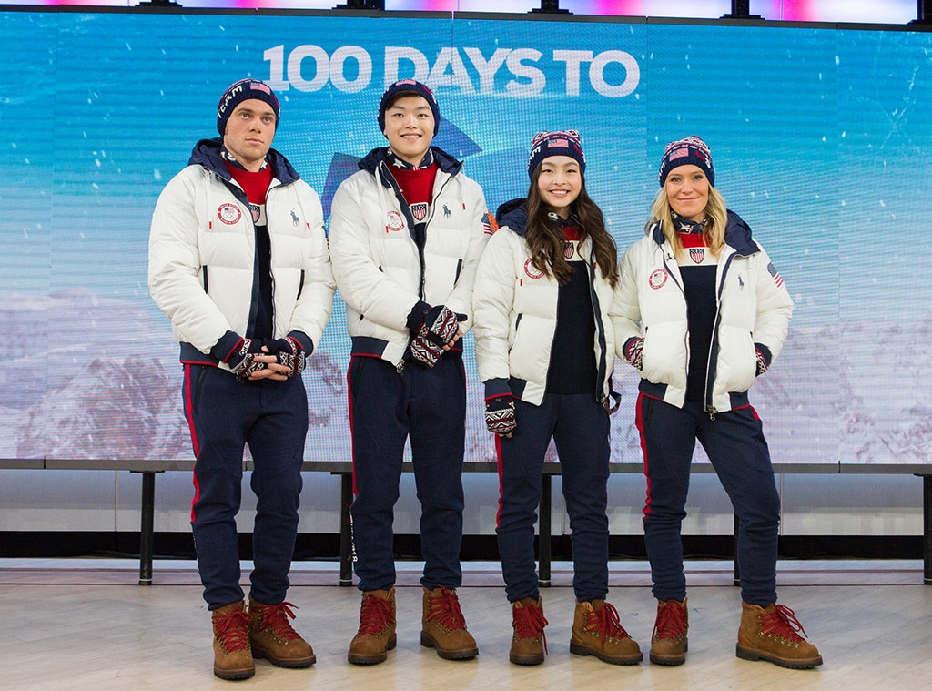 Ralph Lauren, PyeongChang Olympics, Closing Ceremony Outfits