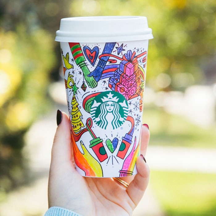 Starbucks Holiday Cups Cause Controversy With Alleged Gay Agenda
