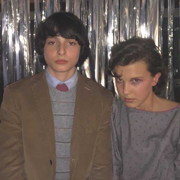 Finn Wolfhard, Millie Bobby Brown, Stranger Things
