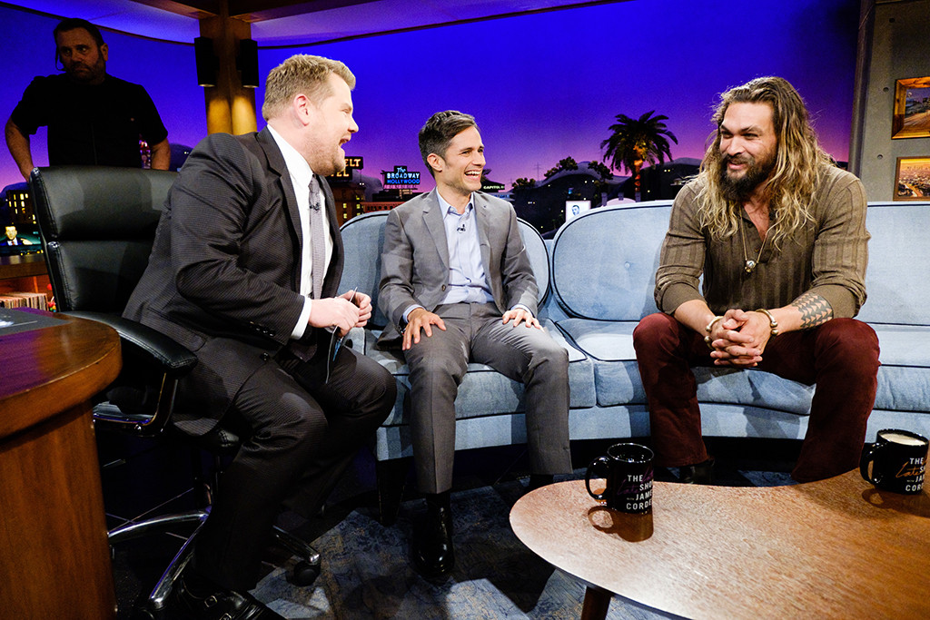 Jason Momoa, The Late Late Show