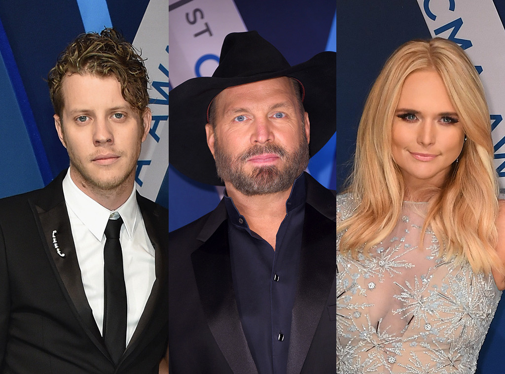 Miranda Lambert, Anderson East, Garth Brooks, 2017 CMA