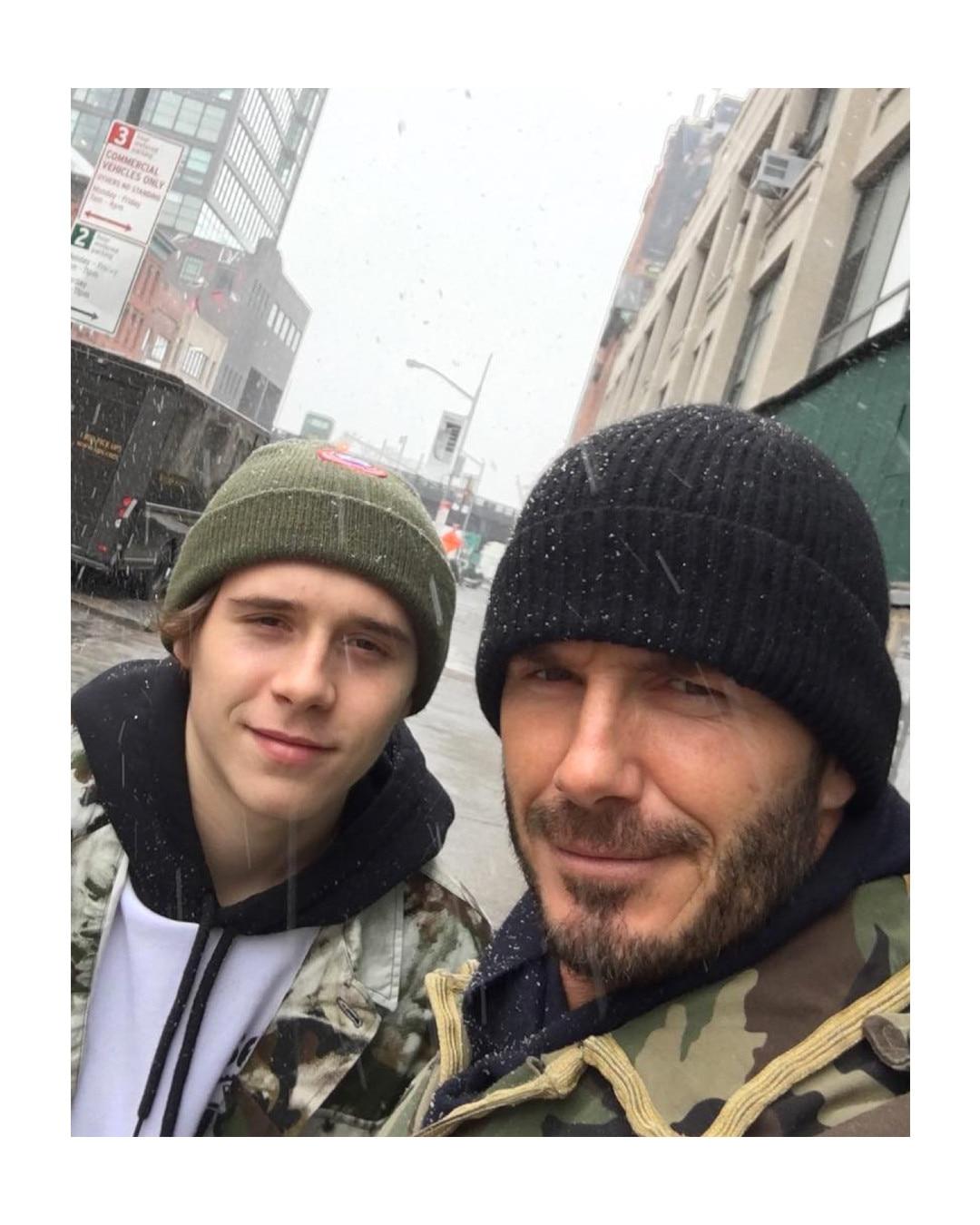 ESC: David Beckham, Brooklyn Beckham