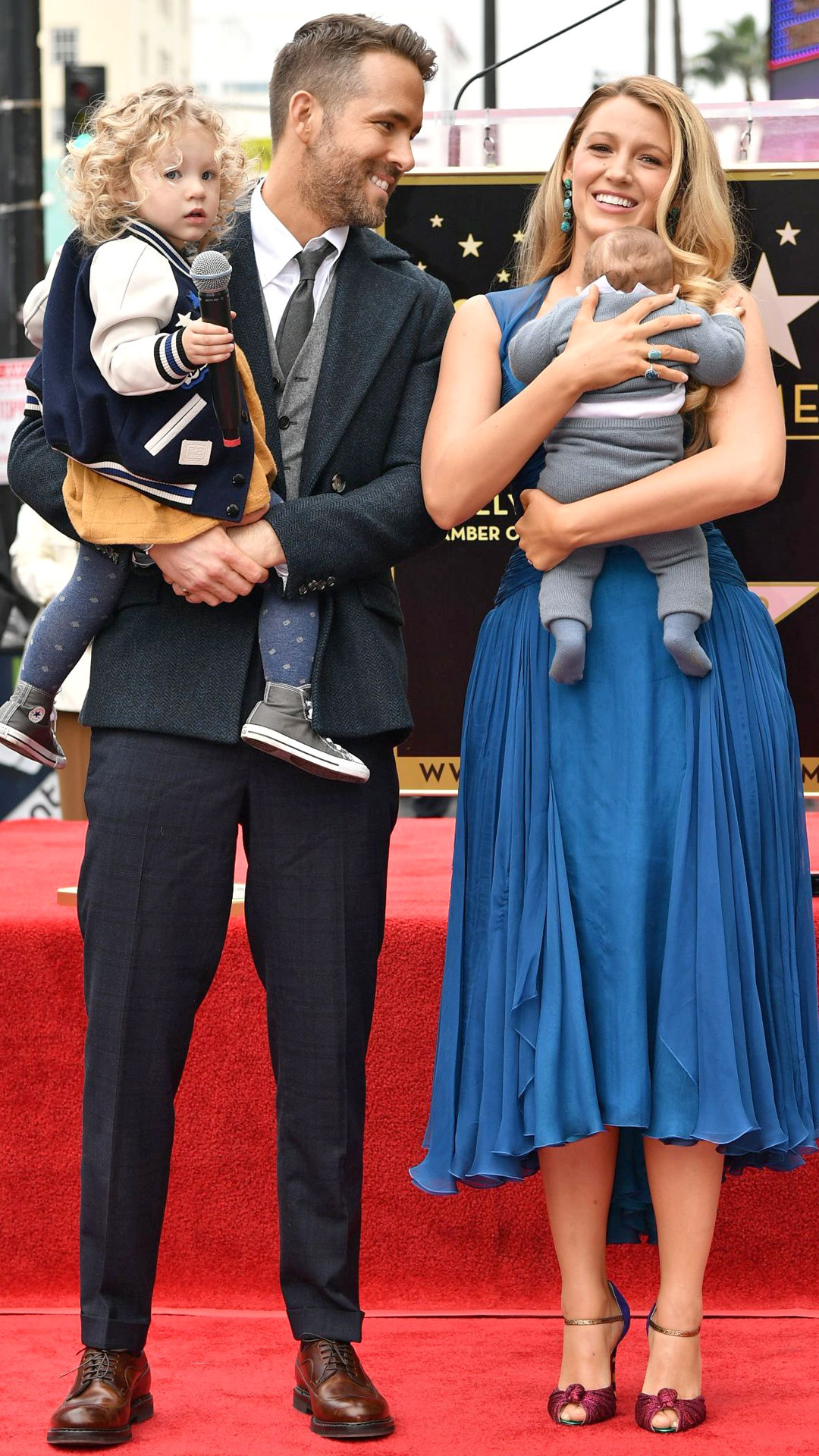 Ryan Reynolds, Blake Lively, Hollywood Walk of Fame
