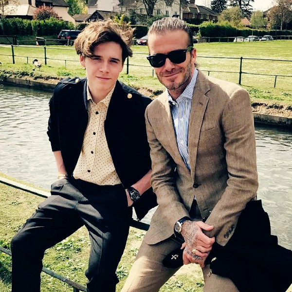 ESC: David Beckham, Brooklyn Beckham