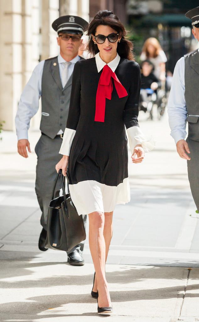 ESC: Amal Clooney, Fashion Plate