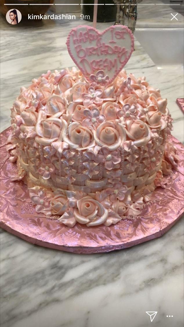 Sweet Treats From Dream Kardashian S First Birthday Party