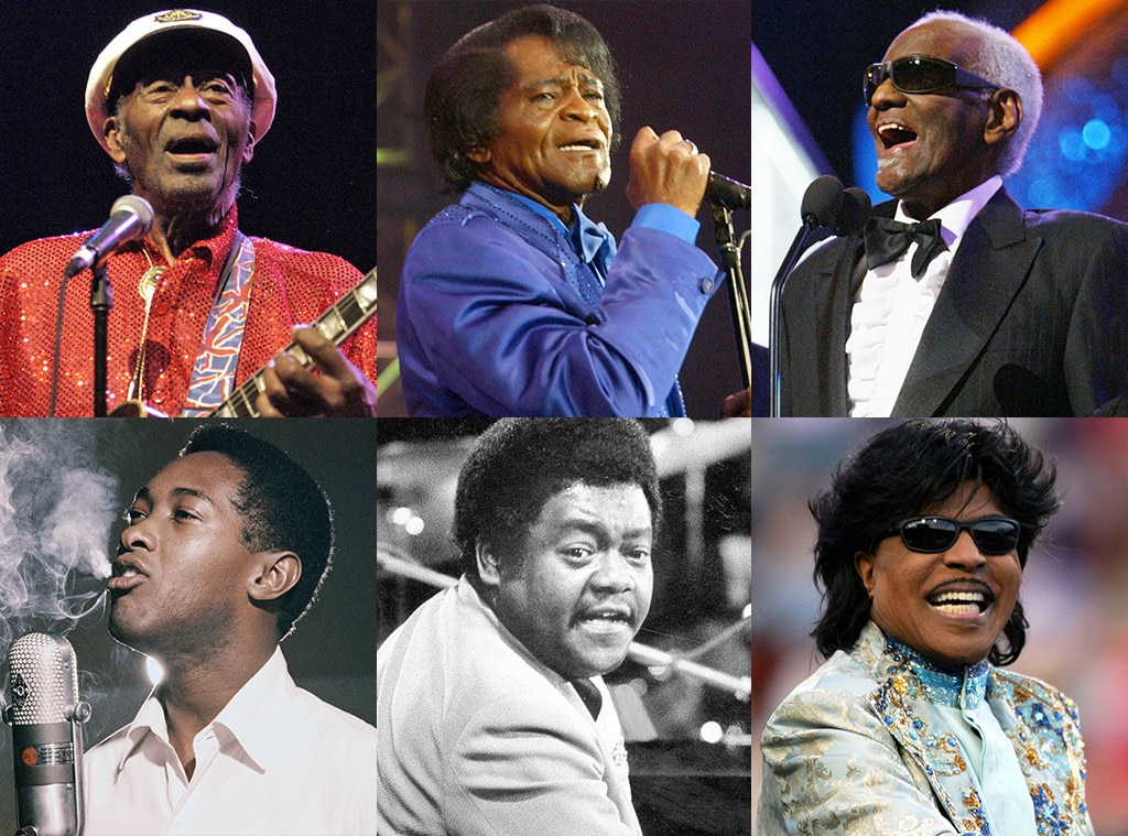 Chuck Berry, James Brown, Ray Charles, Sam Cooke, Fats Domino, Little Richard, African American Firsts