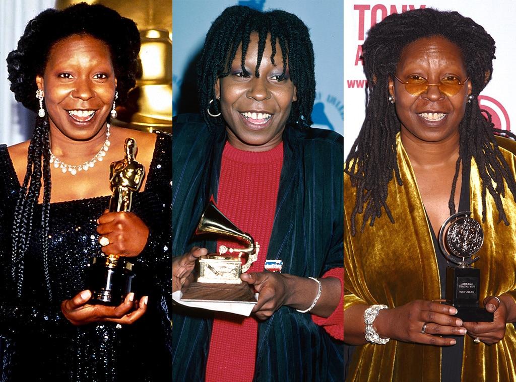 Whoopi Goldberg, EGOT, African American Firsts