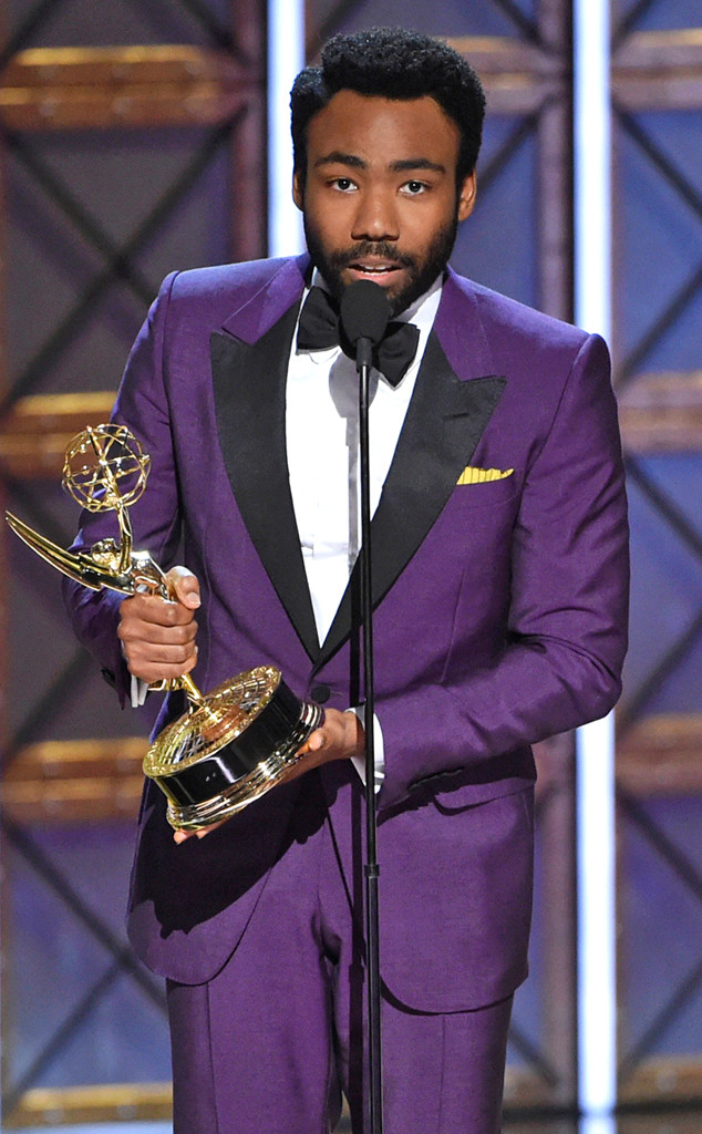 Donald Glover, 2017 Emmys, African American Firsts
