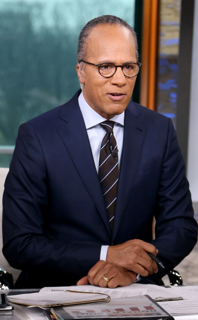 Lester Holt, NBC Nightly News, African American Firsts