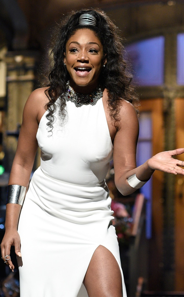 "Tiffany Haddish -  ""OVERJOYED to be nominated for an #Emmy for when I hosted @nbcsnl!! I might even splurge for a new dress for this one!!"" the Guest Actress in a Comedy Series nominee shared. ""Thank you everyone for your love and support! #sheready."""