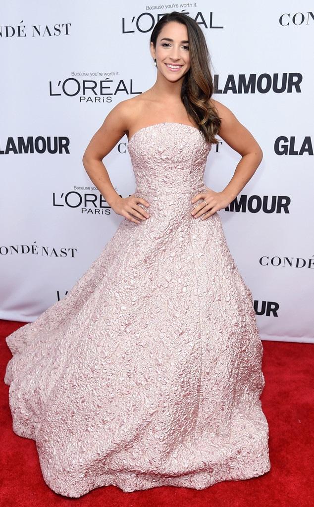 Aly Raisman, Glamour 2017 Women of The Year Awards