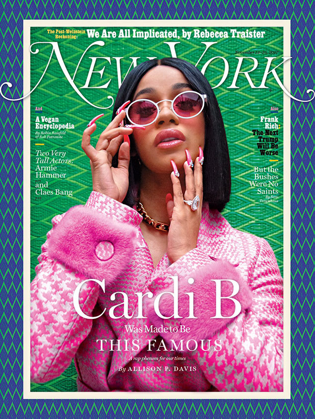 Cardi B, New York Magazine