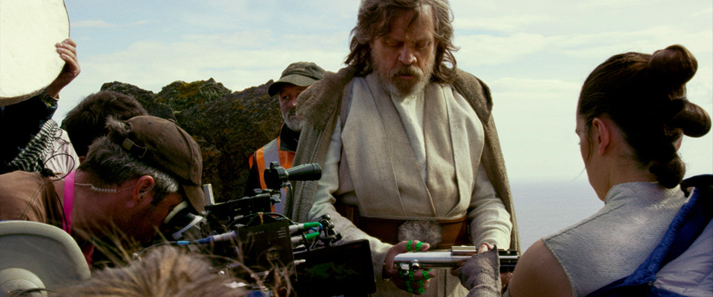 Mark Hamill, Daisy Ridley, Star Wars the Last Jedi