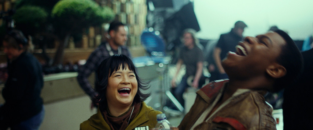 Kelly Marie Tran, John Boyega, Star Wars the Last Jedi