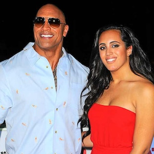 Simone Garcia Johnson, Dwayne Johnson