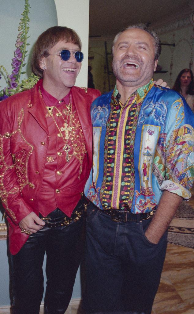 Gianni Versace, Elton John