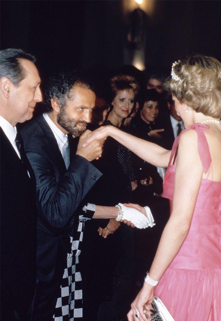 Gianni Versace, Princess Diana