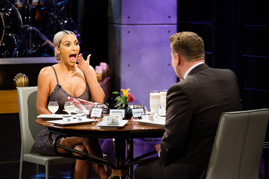 Kim Kardashian, The Late Late Show with James Corden