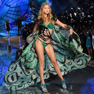 Gigi Hadid, Victoria's Secret Fashion Show Runway