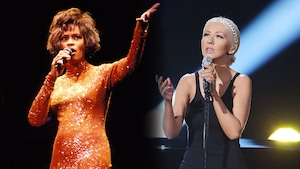 Christina Aguilera, Whitney Houston