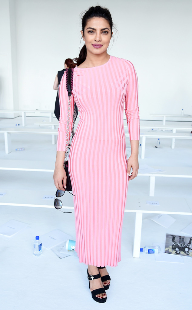 bf2b3d3eeda Priyanka Chopra Sets the Sweater Dress Standard for Winter