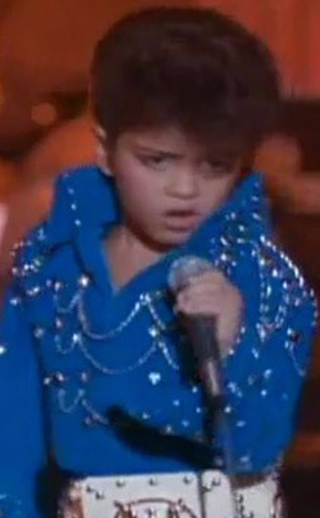 Young Bruno Mars, Honeymoon in Vegas