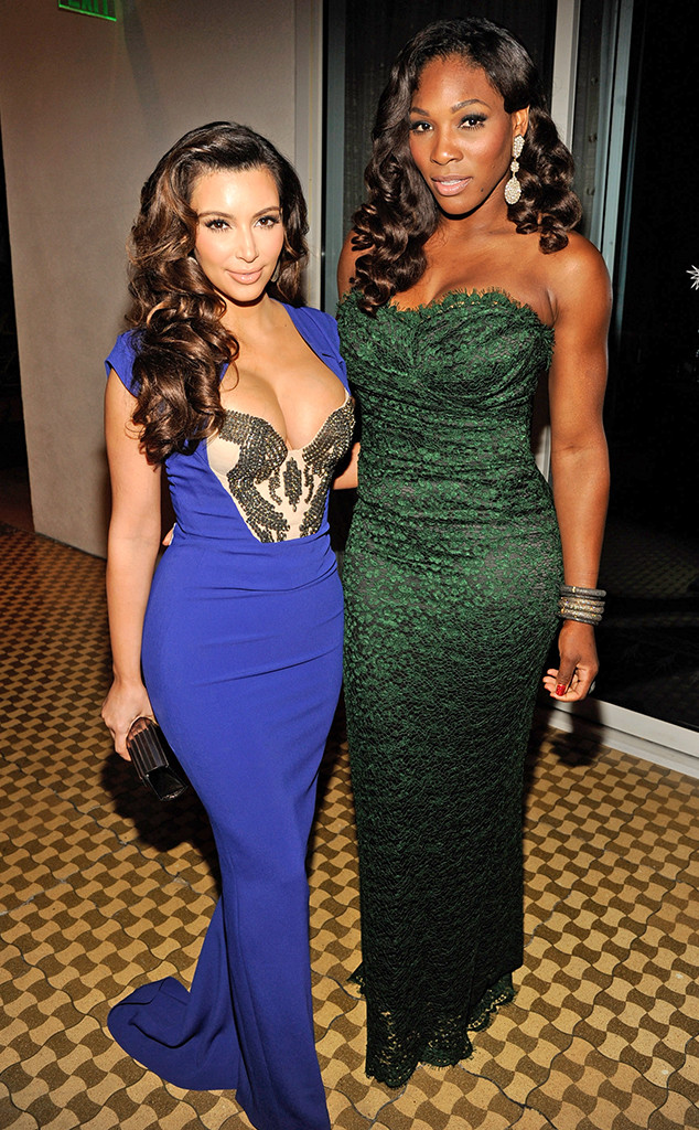 1309288ea2b Serena Williams  Wedding Guests  How She Befriended Kim Kardashian ...