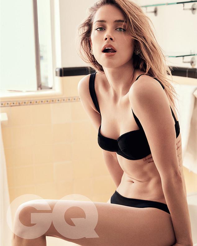 Amber Heard, GQ Australia