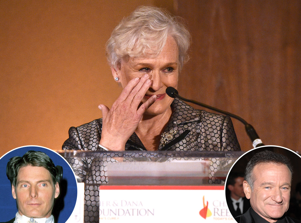 Glenn Close Says Christopher Reeve Could Have Saved Robin ...