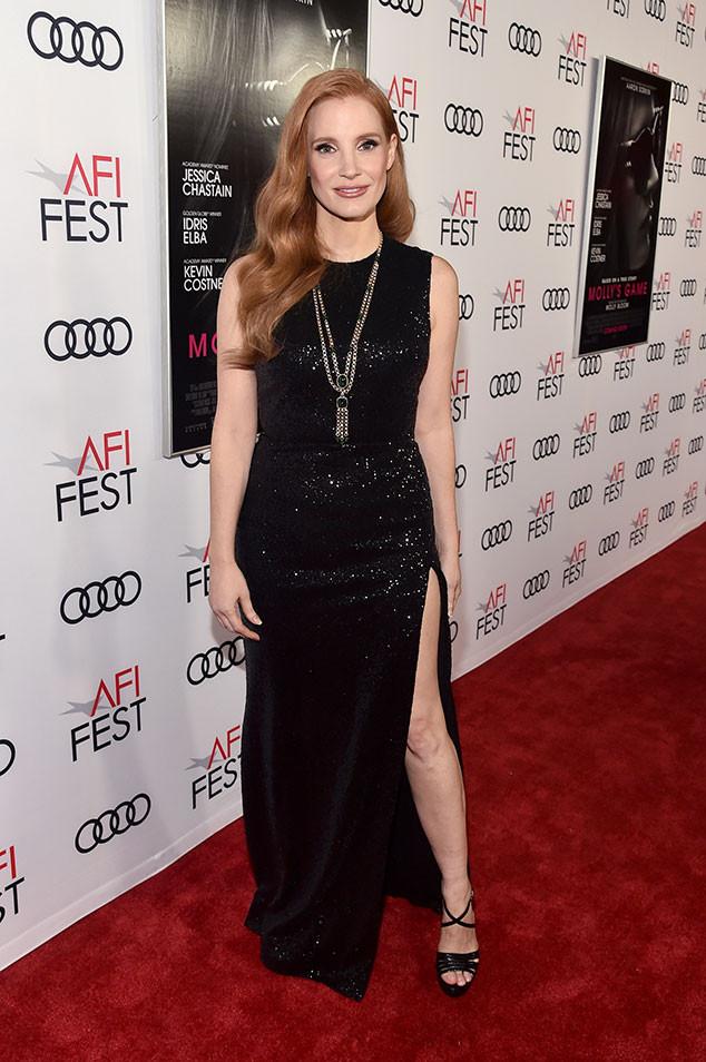 Jessica Chastain Fashion Week Interview