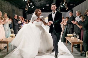 Serena Williams, Alexis Ohanian, Wedding