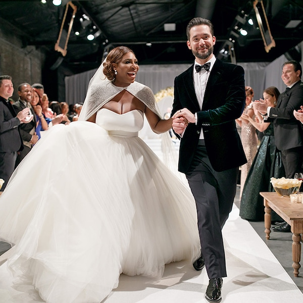 Just Married! From Serena Williams And Alexis Ohanian's