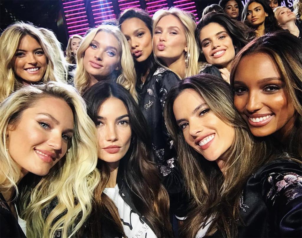 Victoria's Secret Fashion Show 2017, Pre-Show, Models