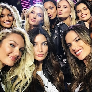 Victoria's Secret Fashion Show 2017, Pre-Show, Models