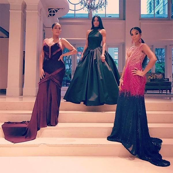 LaLa Anthony, Ciara, Kelly Rowland, Serena Williams Wedding