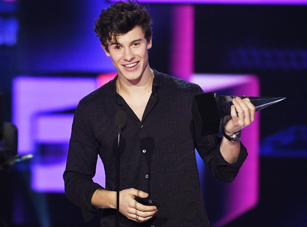 Shawn Mendes, Winners, American Music Awards 2017, AMAs