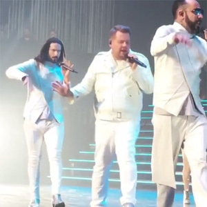James Corden, Backstreet Boys, Las Vegas