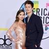 Violetta Komyshan, Ansel Elgort, American Music Awards 2017, AMAs
