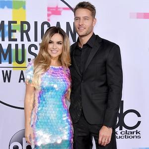 Chrishell Stause, Justin Hartley, American Music Awards 2017, AMAs