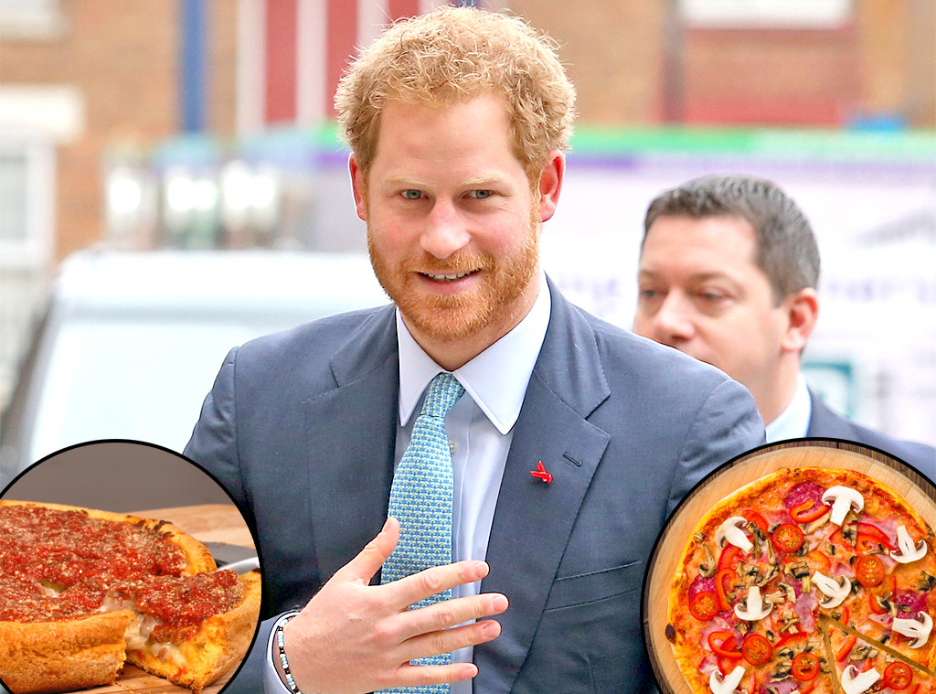 Prince Harry, Deep Dish Pizza, Thin Crust Pizza