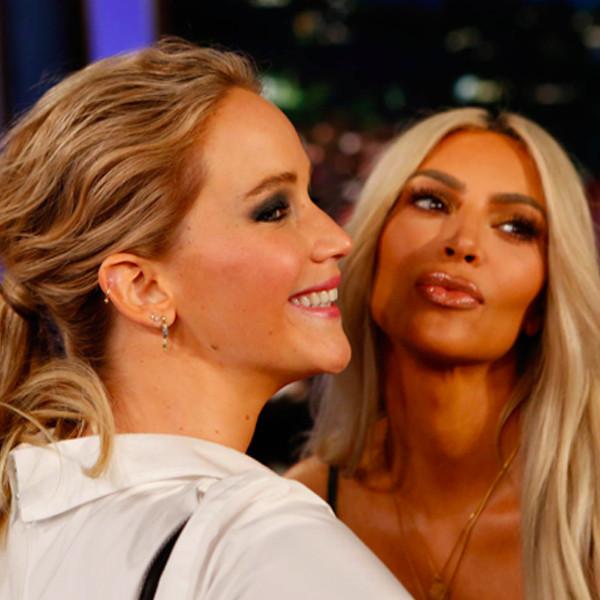 Jennifer Lawrence, Kim Kardashian