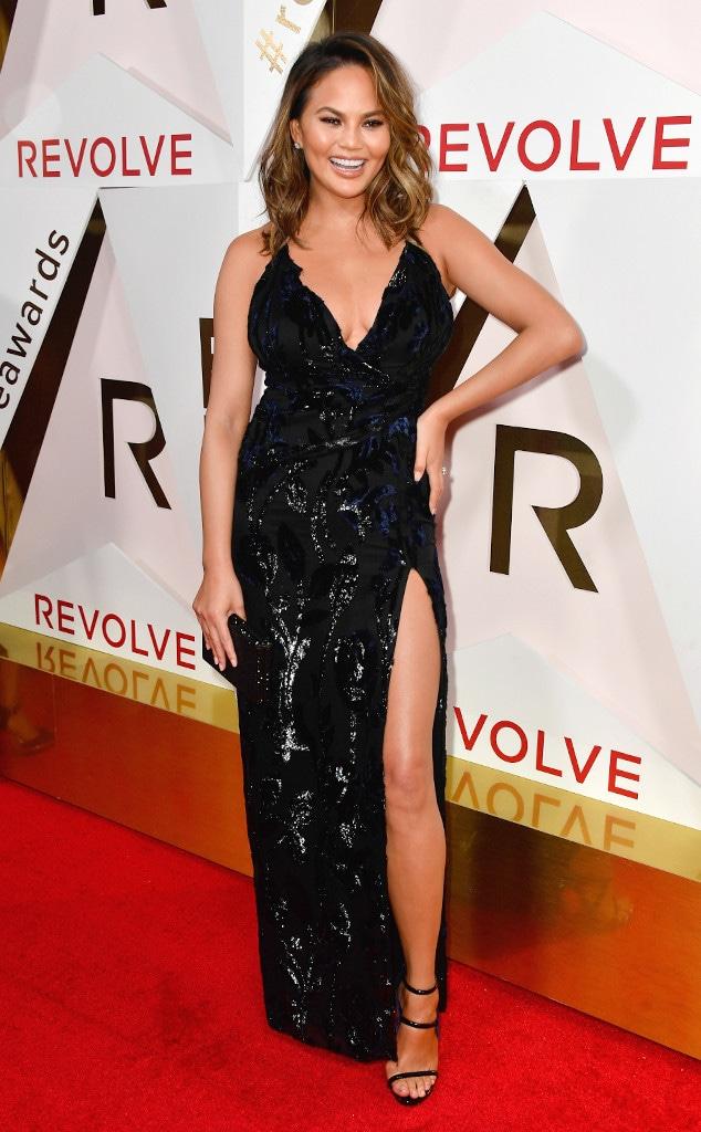 ESC: Revolve Awards, Chrissy Teigen
