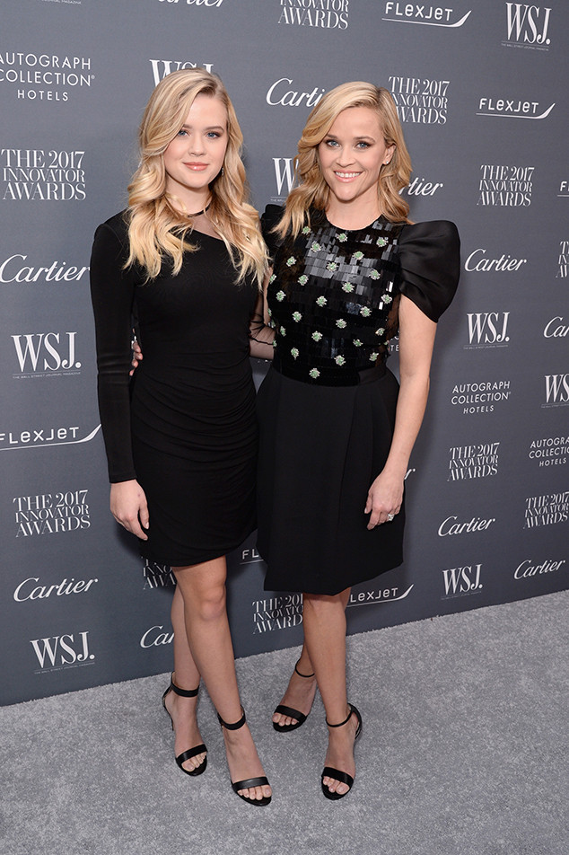 Mini Me! Proof That Reese Witherspoon & Daughter Ava Phillippe Are Basically Twins