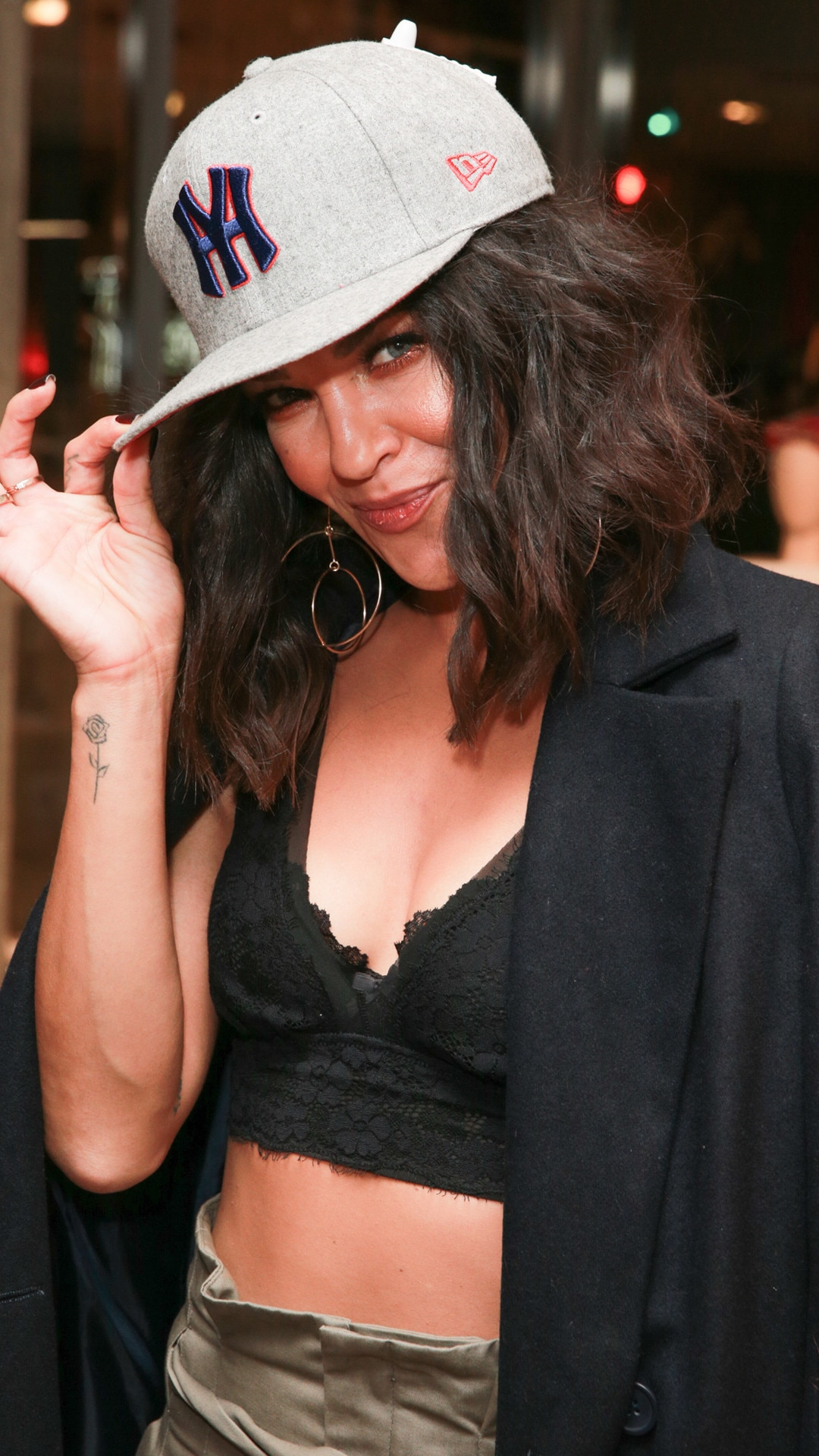 Jessica Szohr -  The  Gossip Girl  star celebrates the New Era cap sunset collection launch at Fred Segal Sunset pop up shop in Los Angeles.