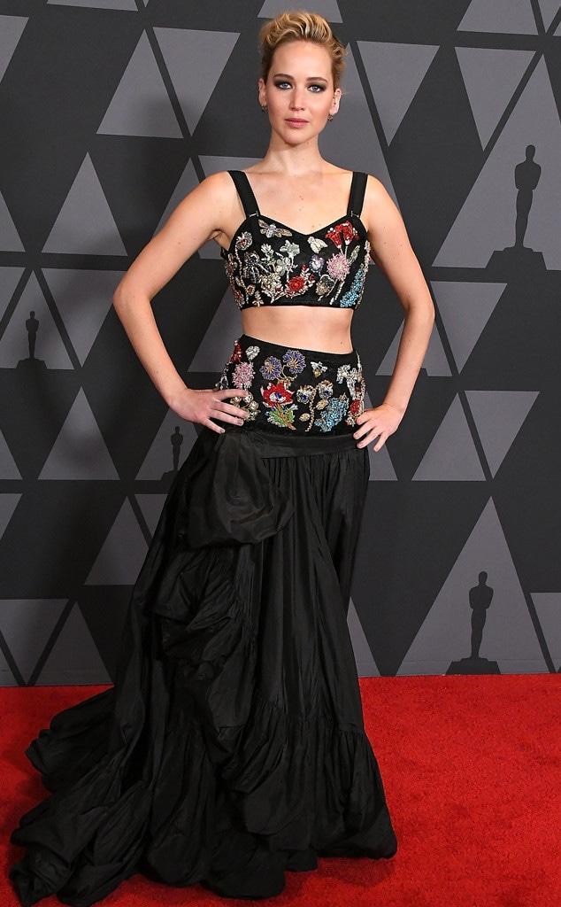 Jennifer Lawrence, Governors Awards 2017
