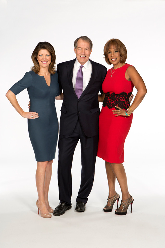 CBS This Morning, Norah O'Donnell, Charlie Rose, Gayle King