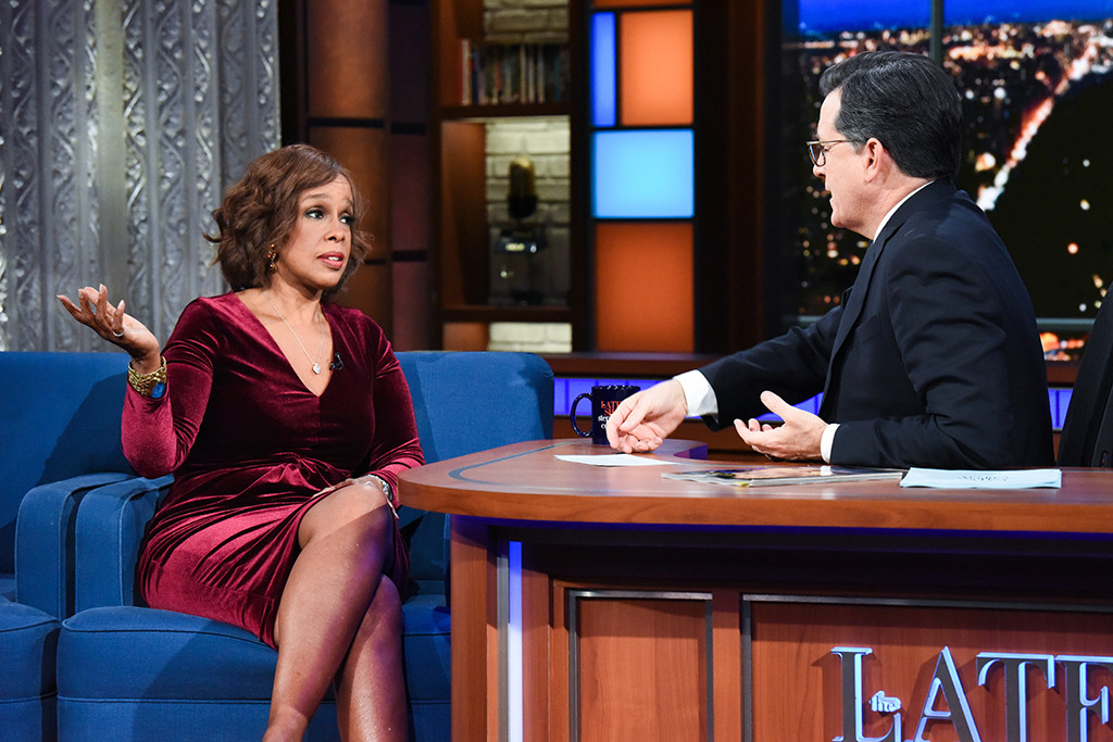 Gayle King, The Late Show With Stephen Colbert